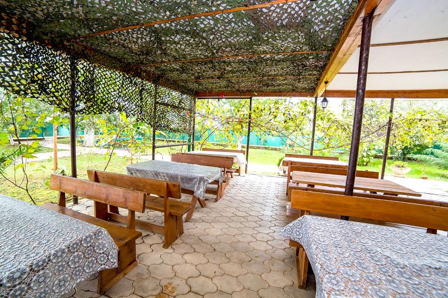 Кафе гостиницы Арго