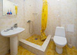 Туалетная комната Стандартного двухместного номера гостиницы Арстаа