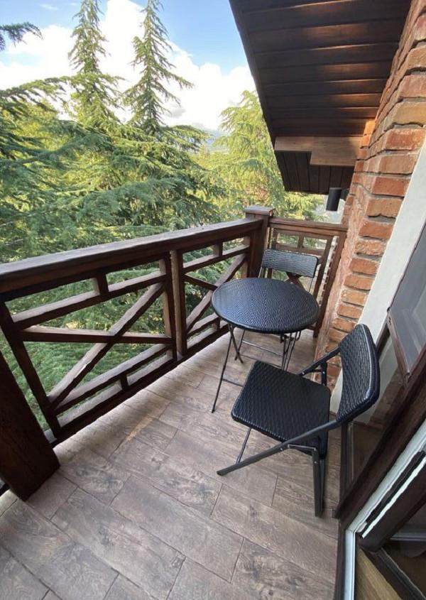Балкон Стандартного номера гостиницы Art Hotel на Октябрьской