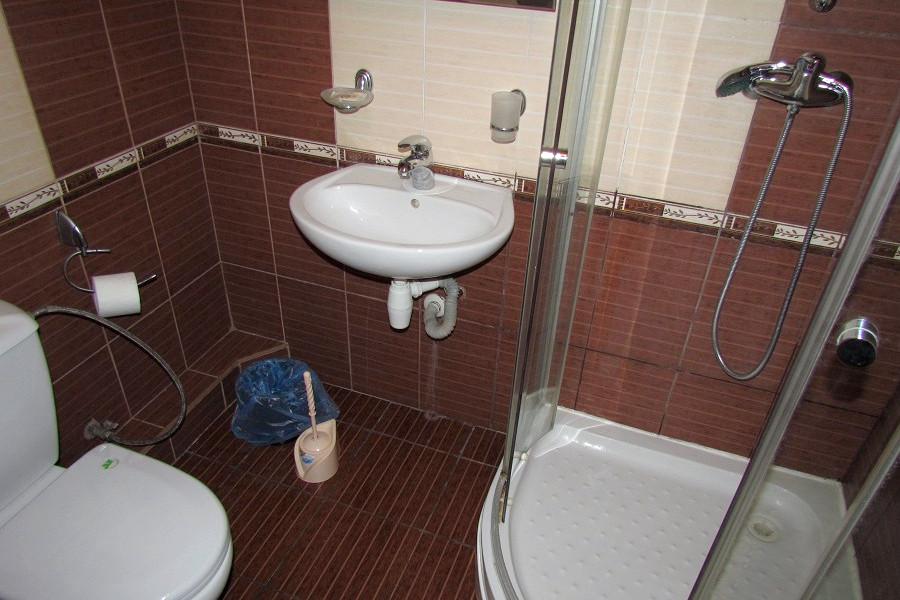 Туалетная комната номера Полулюк в Корпусе Море гостиницы Ассоль
