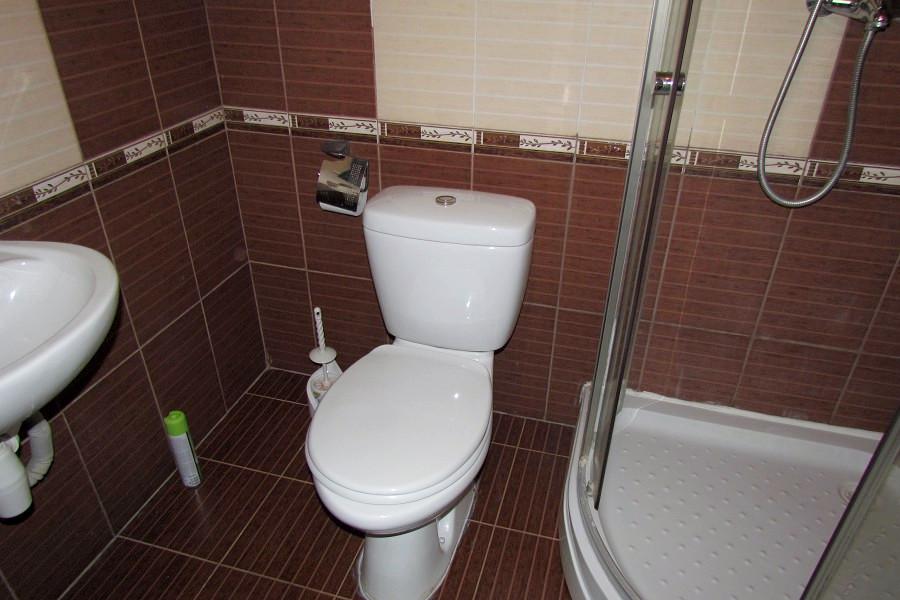 Туалетная комната номера Люкс в Корпусе Море гостиницы Ассоль