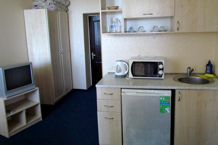 Люкс четырехместный двухкомнатный, Корпус Парк гостиницы Ассоль