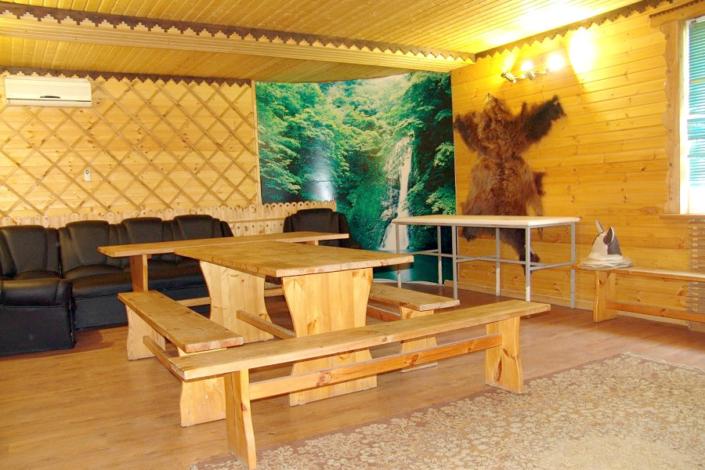 Комната отдыха в банном комплексе гостинцы Астория