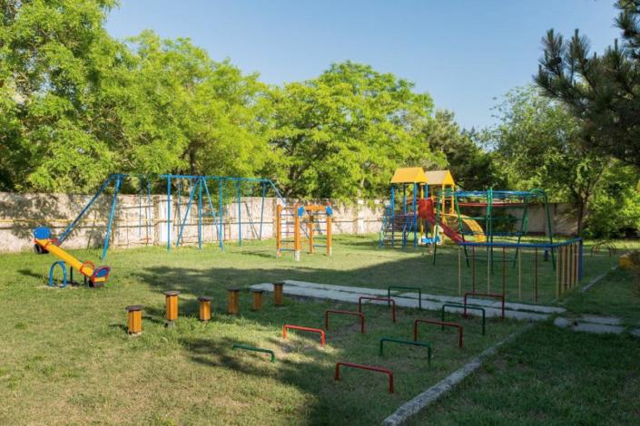Детский игровой городок пансионата Астра-центр