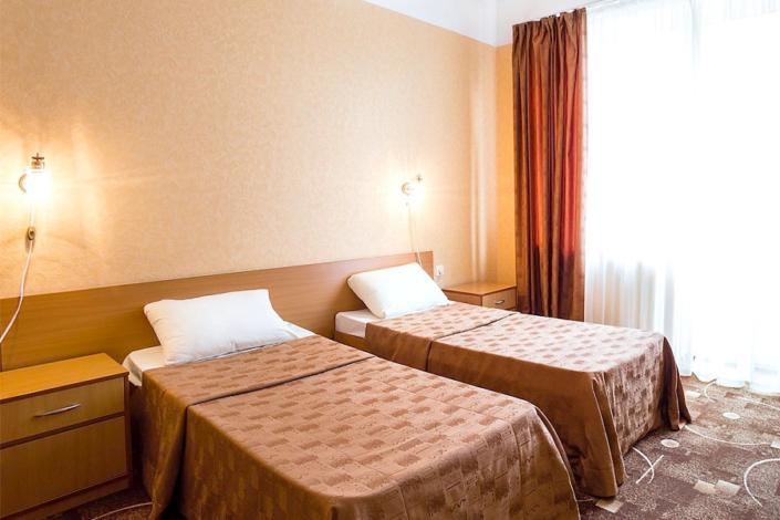 Стандарт двухместный с раздельными кроватями отеля Атлантида