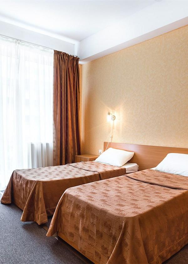 Комфорт двухместный с раздельными кроватями отеля Атлантида