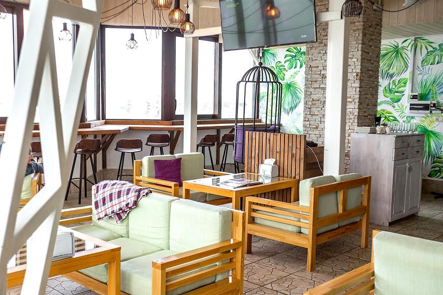 Кафе и лаунж отеля Атлантида