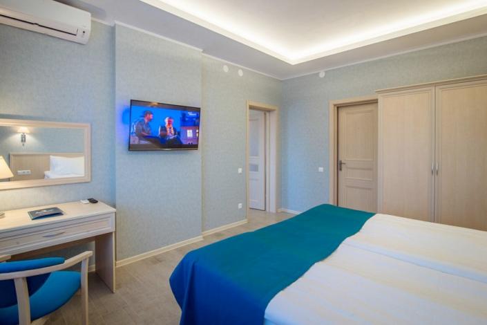 Люкс двухместный с видом на море в отеле Атлантида
