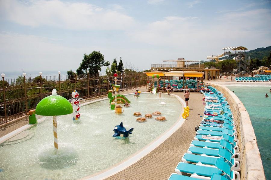 Аквапарк Атлантида, Ялта, Крым