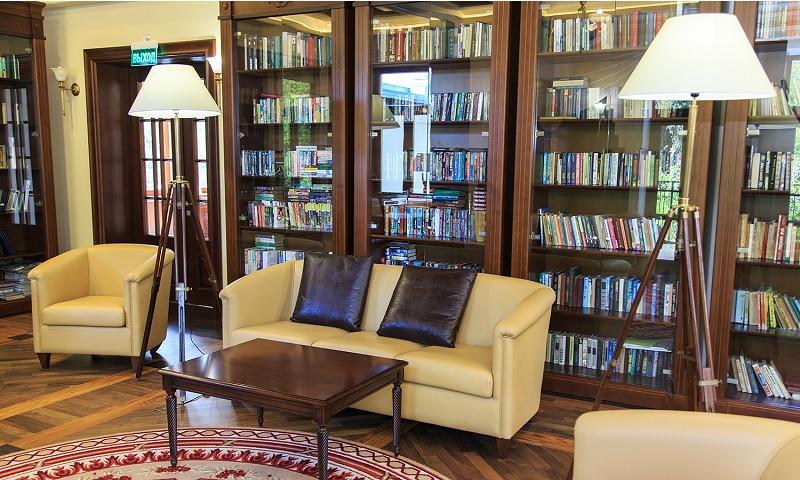 Библиотека санатория Авангард