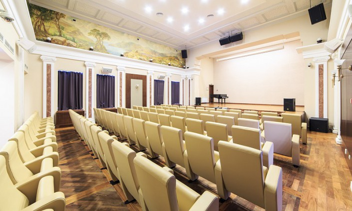 Киноконцертный зал санатория Авангард