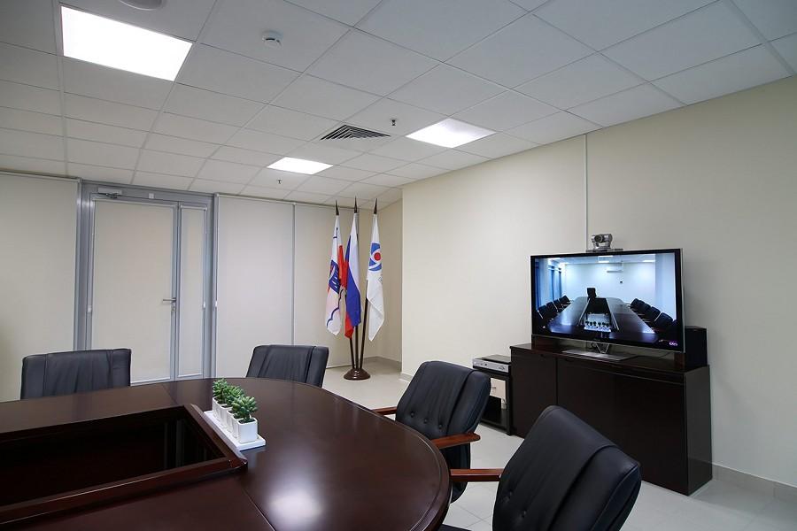 Зал заседаний пансионата Автомобилист, Сочи