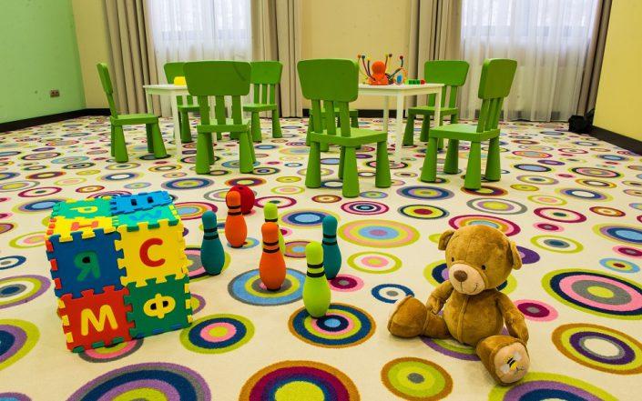 Детский клуб Azimut Hotel Freestyle Rosa Khutor