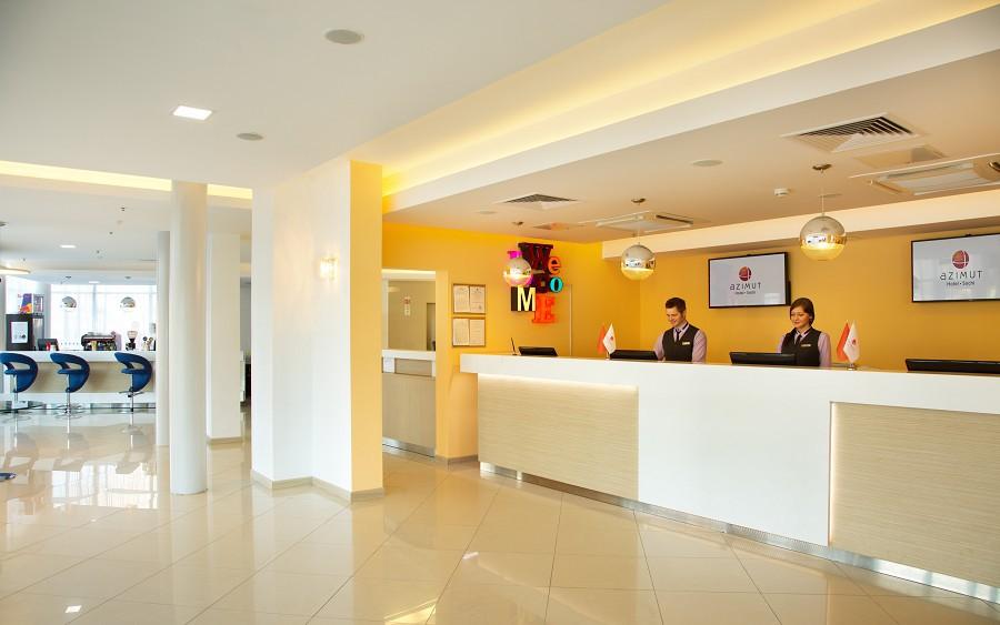 Служба приема и размещения Аzimut Hotel Sochi