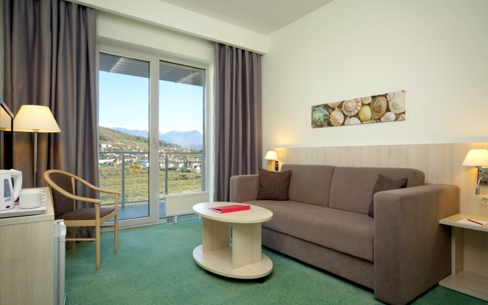 Номер Люкс двухместный двухкомнатный Azimut Hotel Sochi