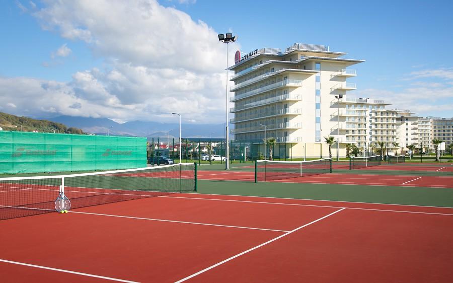 Теннисные корты Аzimut Hotel Sochi