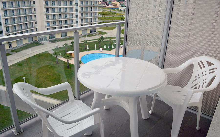 Балкон номера Azimut Hotel Sochi