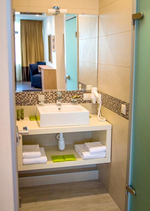 Туалетная комната номера Стандарт Улучшенный отеля Багатель