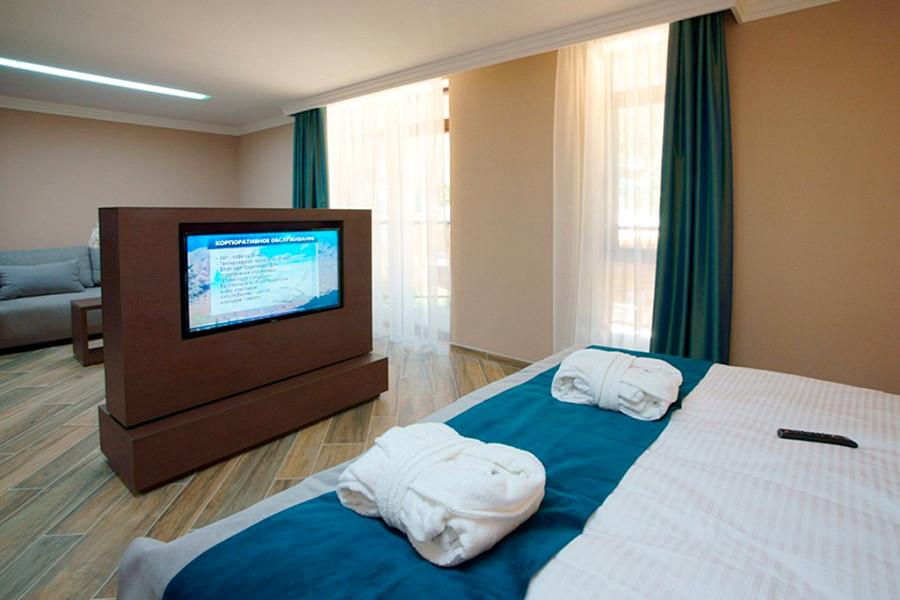 Делюкс двухместный отеля Багатель