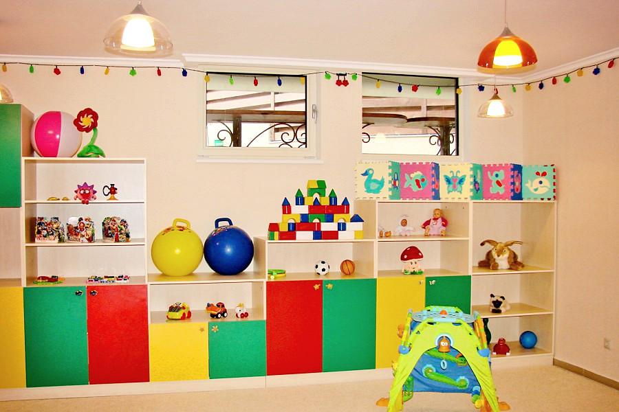 Детская комната отеля Багатель