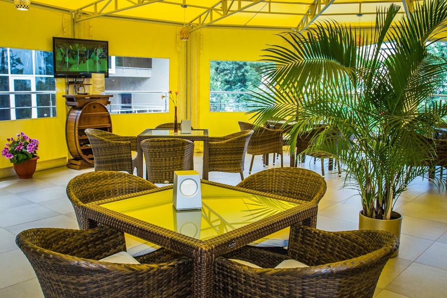 Кафе отеля Багатель