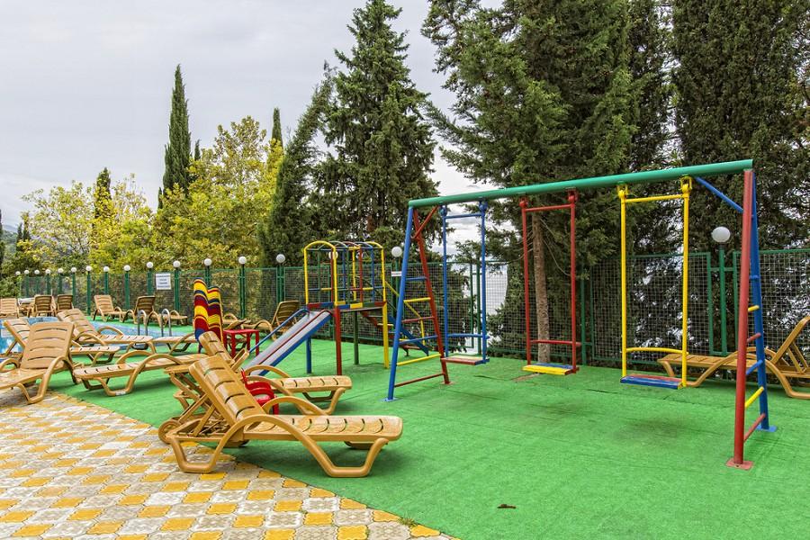 Детская игровая площадка пансионата Багрипш