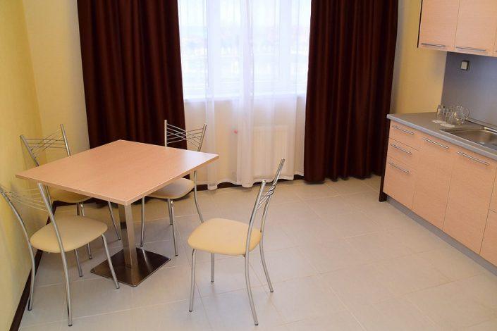 Апартаменты с кухней двухместные отеля Бархатные Сезоны