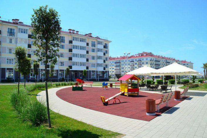 Территория отеля Бархатные Сезоны