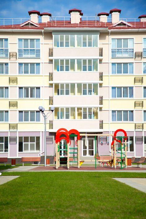 Одна из детских площадок отеля Бархатные Сезоны