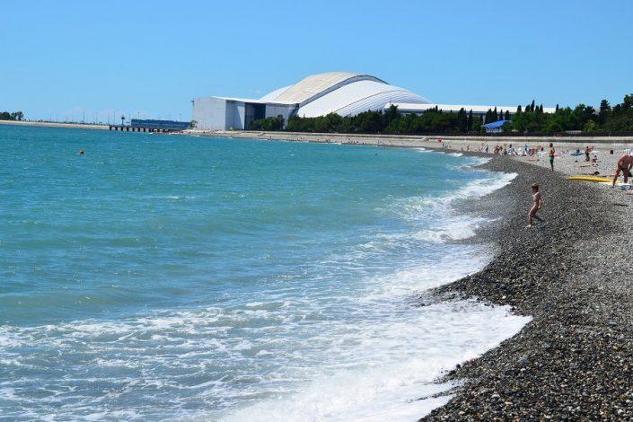 Пляж отеля Бархатные Сезоны