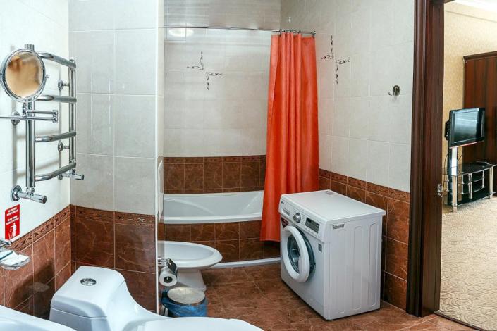 Туалетная комната Апартаментов отеля Бартон Парк