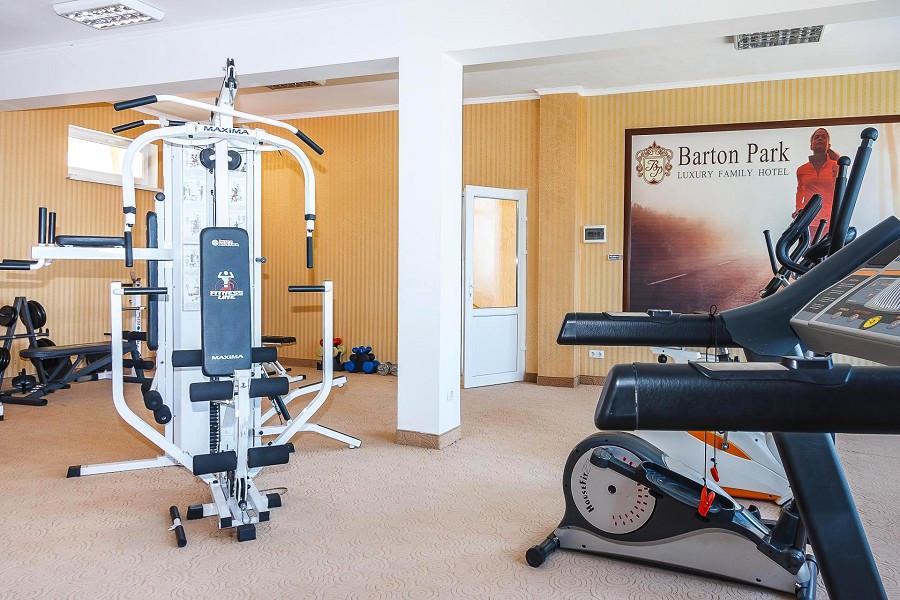 Тренажерный зал отеля Бартон Парк