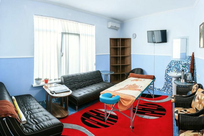 Комната отдыха в бане отеля Бартон Парк