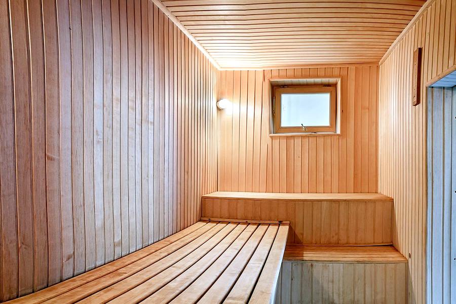 Парная бани отеля Бартон Парк