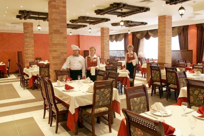 Ресторан комплекса отдыха Беларусь