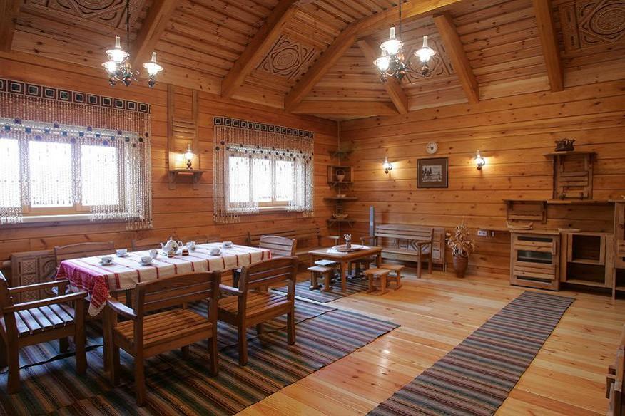 Комната отдыха в бане комплекса отдыха Беларусь