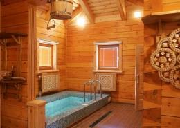 Купель в бане комплекса отдыха Беларусь