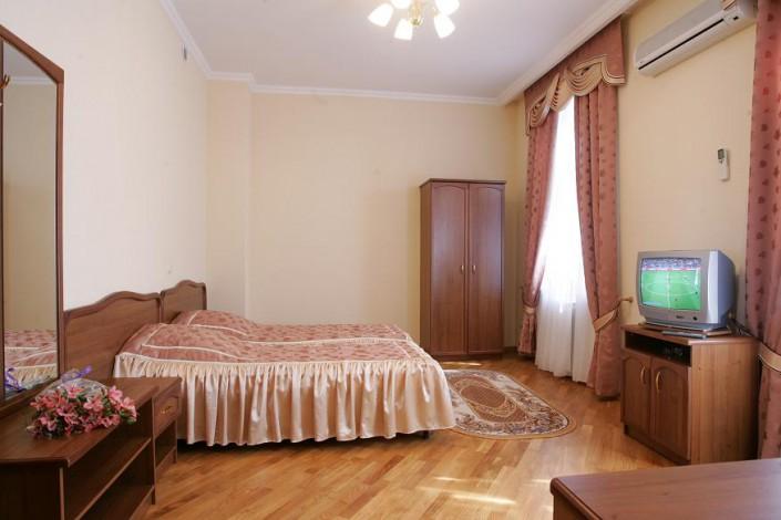 Стандартный двухместный номер в Главном корпусе санатория Беларусь