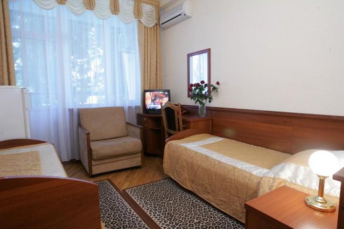 Двухместный номер в Приморском корпусе санатория Беларусь
