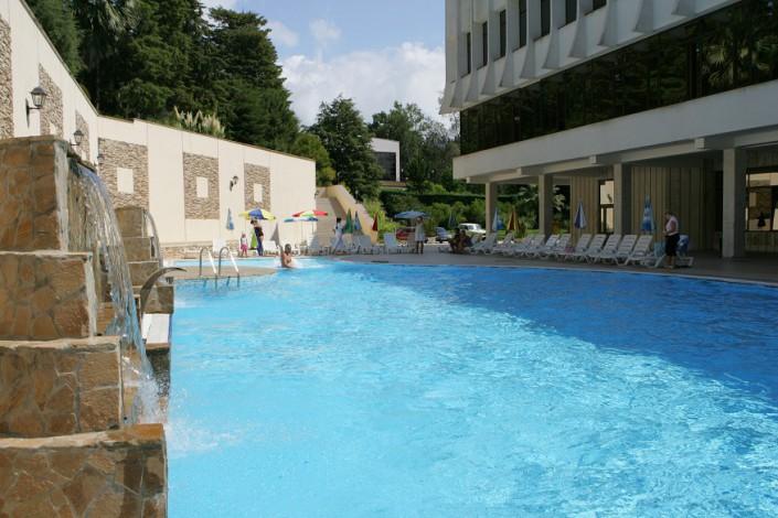 Открытый бассейн санатория Беларусь