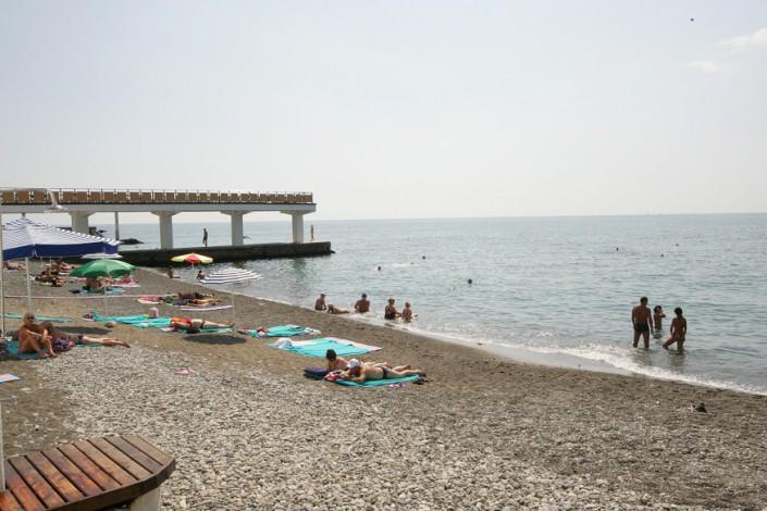 Пляж санатория Беларусь
