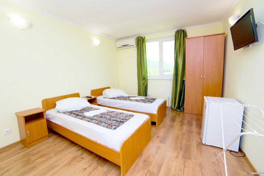 Стандартный двухместный номер гостевого дома Белая панама