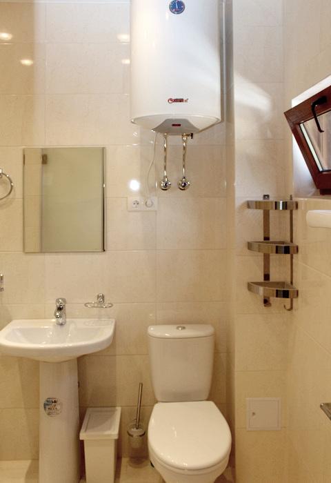 Туалетная комната Стандартного номера гостевого дома Belweder