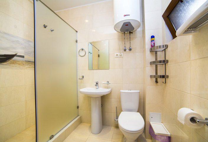 Туалетная комната номера Люкс гостевого дома Belweder