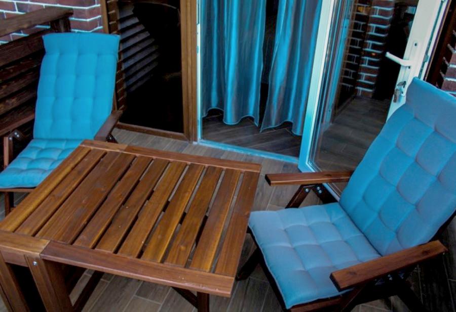 Балкон в одном из номеров гостевого дома Belweder