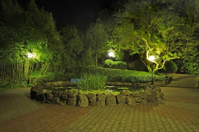 Территория санатория Белые ночи, Сочи, Уч-Дере