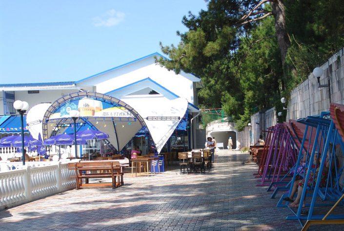 Пляжный комплекс санатория Белые ночи, Сочи, Уч-Дере