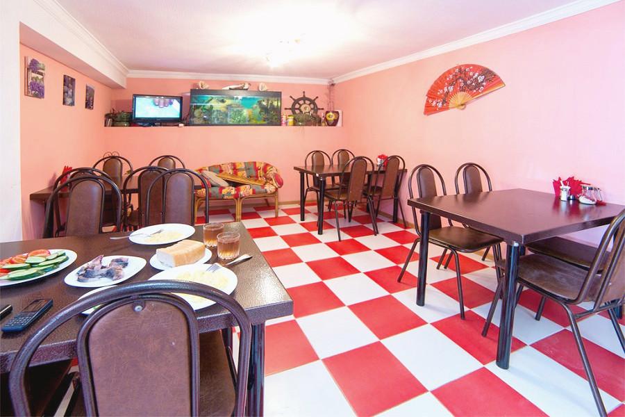 Кафе гостиницы Белые скалы