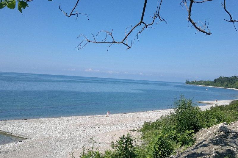 Пляжи Нового Афона, Абхазия