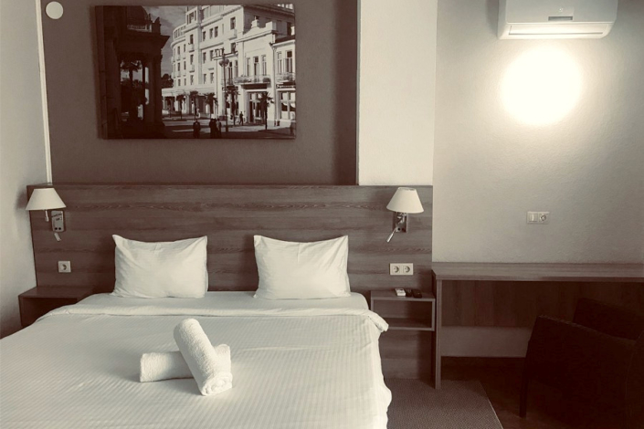 Супериор двухместный в Корпусе 2 отеля Берег эвкалиптов